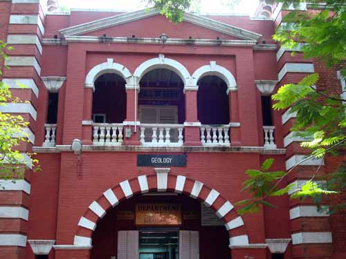 Anna University - Department of Geology